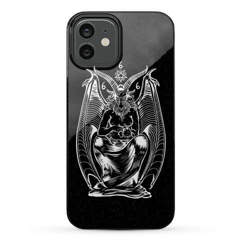Pet Cats. Hail Satan. Phone Case