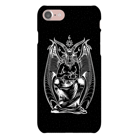 Pet Cats. Hail Satan. Phone Case