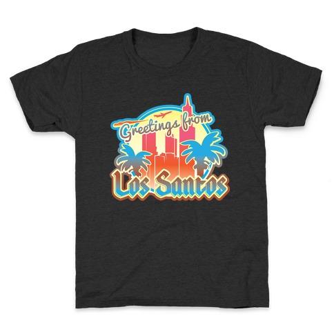 Greetings From Los Santos Kids T-Shirt
