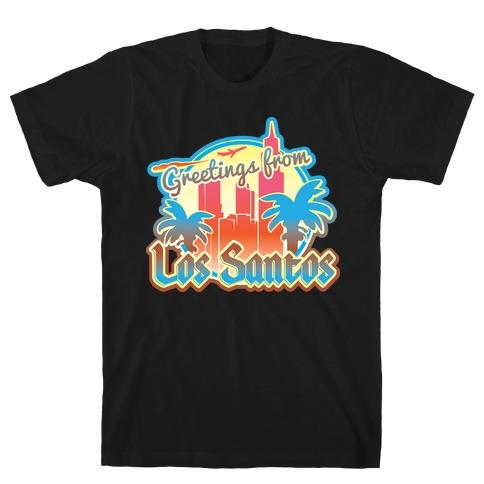 Greetings From Los Santos T-Shirt