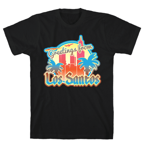 Greetings From Los Santos Mens T-Shirt