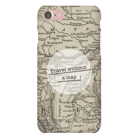 Travel Without A Map Case Phone Case