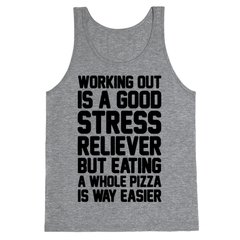 Pizza Workout Tank Top