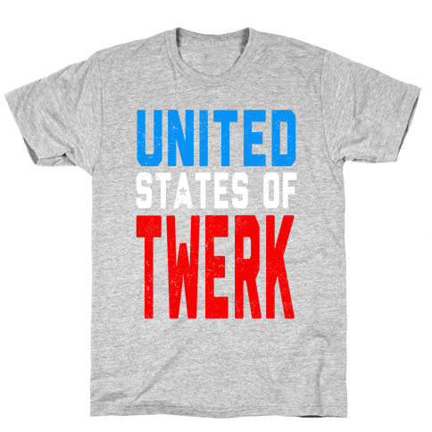 United States of TWERK (Juniors) Mens T-Shirt