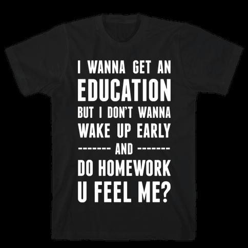 Education Mens T-Shirt