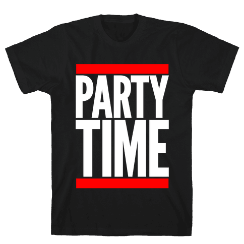 Party Time Mens T-Shirt