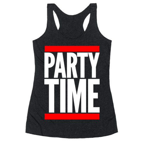 Party Time Racerback Tank Top