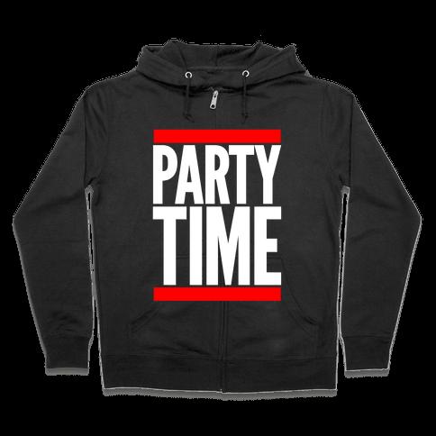 Party Time Zip Hoodie