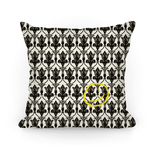 Sherlock Wallpaper Pillow