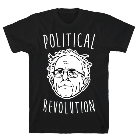 Bernie Political Revolution Mens T-Shirt
