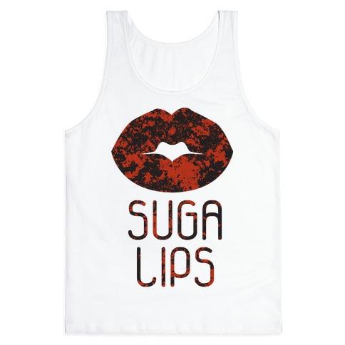 Suga Lips Tank Top