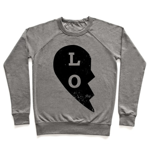 "Love ""Lo"" Couples Shirt Pullover"