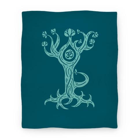 The Tree Pose Blanket