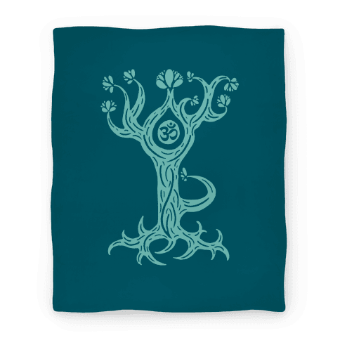 The Tree Pose Blanket