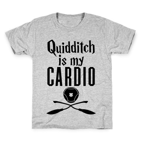 Quidditch Is My Cardio Kids T-Shirt