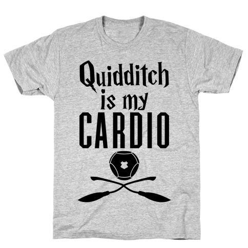 Quidditch Is My Cardio Mens T-Shirt