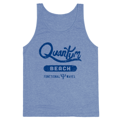 Quantum Beach - Wave Function Tank Top