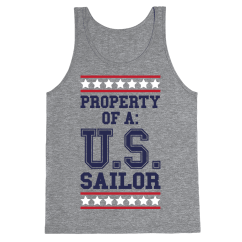 Property Of A U.S. Sailor Tank Top