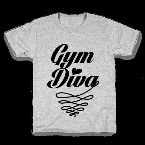 Gym Diva Kids T-Shirt