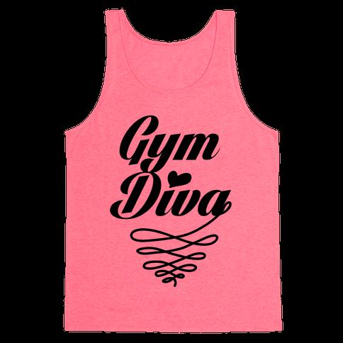 Gym Diva Tank Top