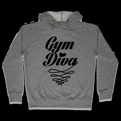 Gym Diva Hooded Sweatshirt