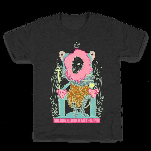 The Emperor Lion Kids T-Shirt