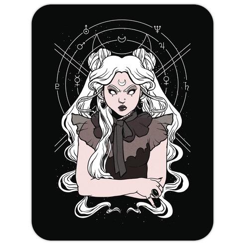 Goth Usagi (Sailor Moon Parody) Die Cut Sticker
