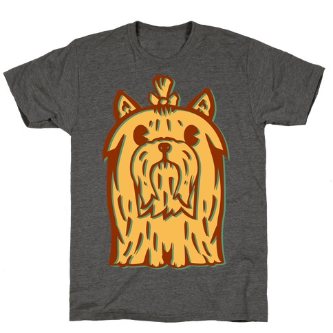 Yorkshire Terrier Vintage Illustration T-Shirt