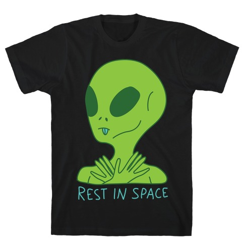 Rest In Space Mens T-Shirt