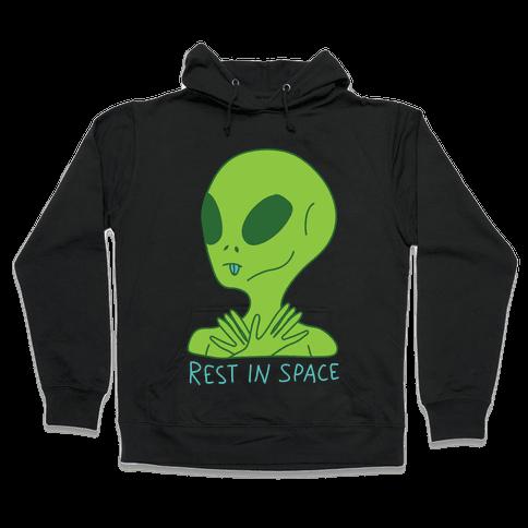 Rest In Space Hooded Sweatshirt