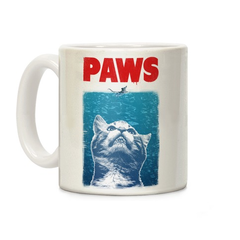 PAWS (JAWS Parody) Coffee Mug