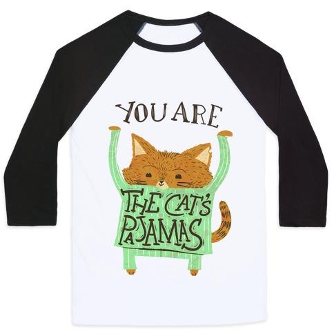 Cat's Pajamas Baseball Tee