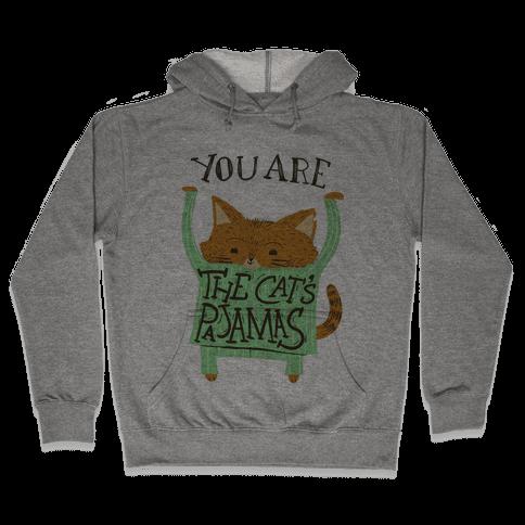 Cat's Pajamas Hooded Sweatshirt