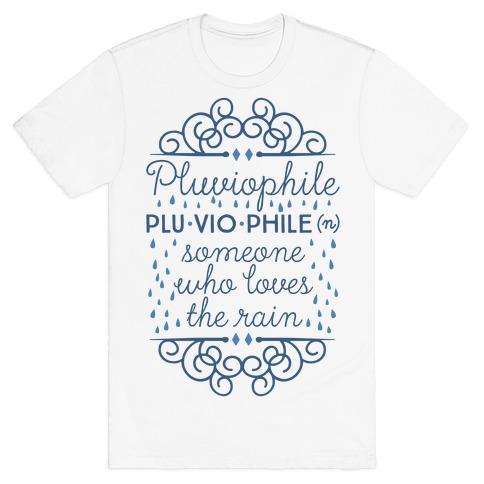 Pluviophile Definition T-Shirt