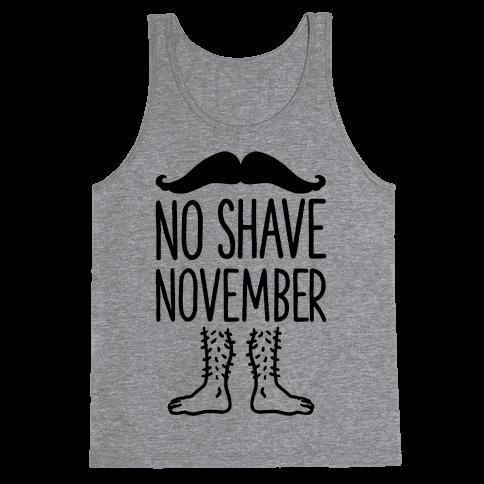 No Shave November Tank Top