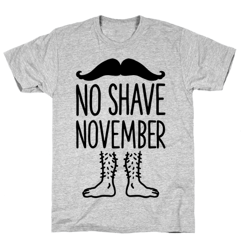 No Shave November Mens T-Shirt