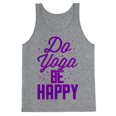 Do Yoga Be Happy Tank Top