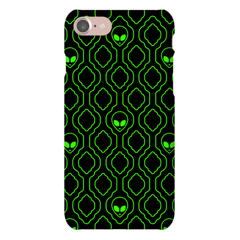 Alien Wallpaper Phone Case