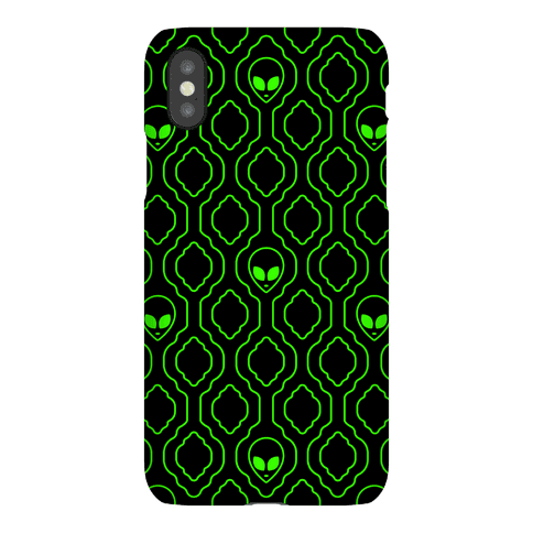 Alien Wallpaper Phone Case