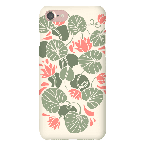 Art Nouveau Water Lilies Phone Case