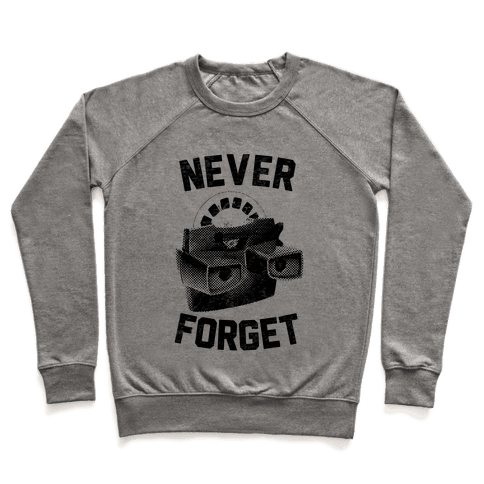 Never Forget (Viewmaster) Pullover