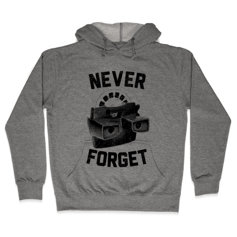 Never Forget (Viewmaster) Hooded Sweatshirt