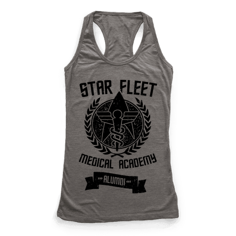 Star Fleet Medical Academy Alumni Racerback Tank Top