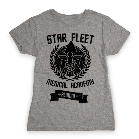 Star Fleet Medical Academy Alumni Womens T-Shirt