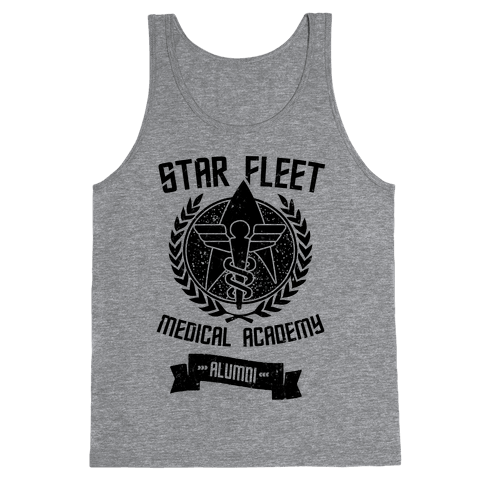 Star Fleet Medical Academy Alumni Tank Top
