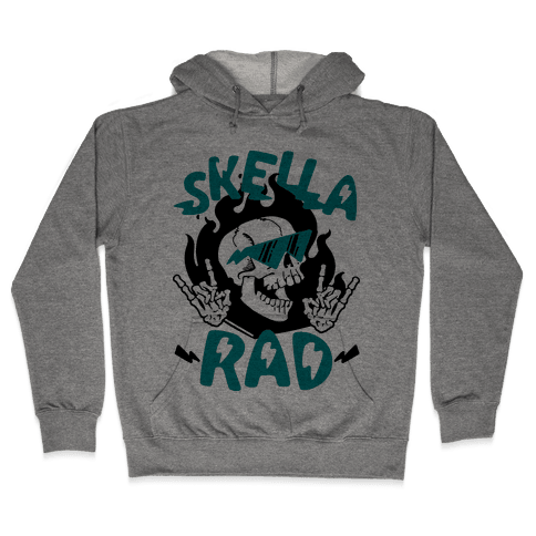 Skella Rad Hooded Sweatshirt