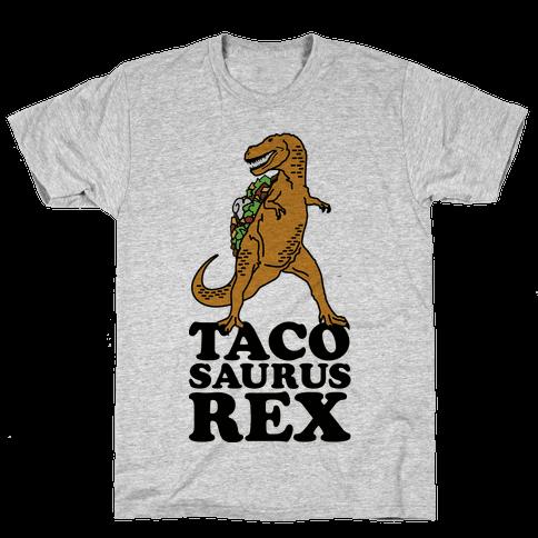 Tacosaurus Rex Mens T-Shirt