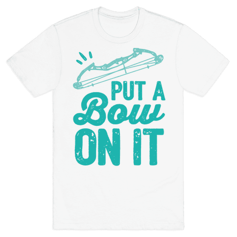 Put A Bow On It Mens T-Shirt