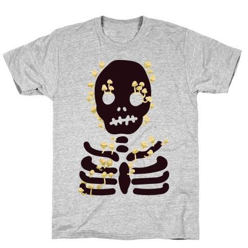 Mushroom Skeleton T-Shirt