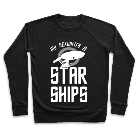 My Sexuality Is Starships Pullover